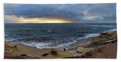 La Jolla Shores Beach Panorama Beach Sheet