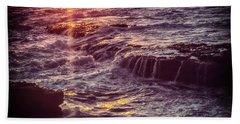 La Jolla Sunset Beach Towel