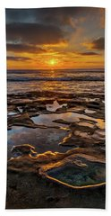 La Jolla Tidepools Beach Towel