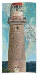 La Mer Lighthouse Beach Towel