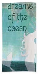 La Mer Mermaid 1 Beach Towel