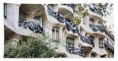 La Pedrera Casa Mila Gaudi  Beach Sheet