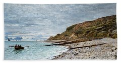 La Point De La Heve, Sainte Adresse Beach Towel