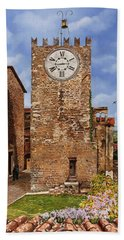 La Torre Del Carmine-montecatini Terme-tuscany Beach Towel