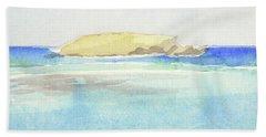 La Tortue, St Barthelemy, 1996 100x60 Cm Beach Sheet