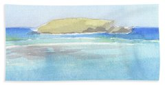 La Tortue, St Barthelemy, 1996_0046 60x35 Cm Beach Towel
