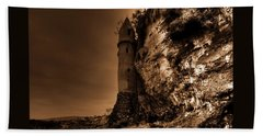La Tour Darkly Beach Towel