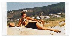 La Vida Dulce,the Sweet Life Beach Sheet