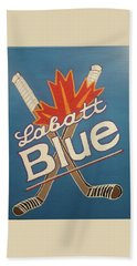 Labatt Blue Beach Towel by Jonathon Hansen