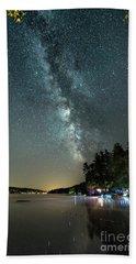 Labor Day Milky Way In Vacationland Beach Sheet