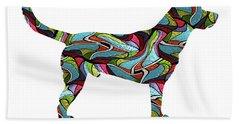 Labrador Retriever 2 Spirit Glass Beach Towel