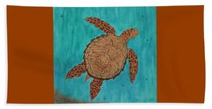 Lacey's Sea Turtle Beach Towel by Susie WEBER
