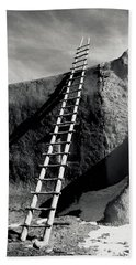 Ladder To The Sky Beach Towel
