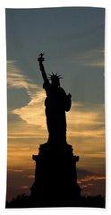 Lady Liberty Beach Sheet