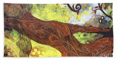 Lady Of Elation Beach Towel