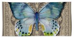 Laglaizei Butterfly Design Beach Sheet