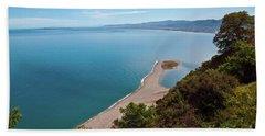 Lagoon Of Tindari On The Isle Of Sicily  Beach Sheet