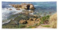 Laguna Beach California Beach Towel
