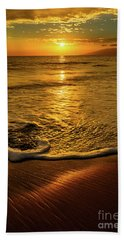 Lahaina Glow Beach Towel