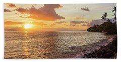 Lahaina Sunset Beach Towel