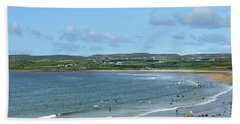 Lahinch Beach Beach Towel by Terence Davis