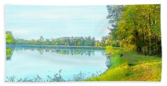 Lake And Woods Beach Towel