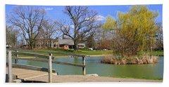 Lake At Schiller Park Beach Sheet