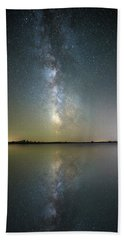Beach Sheet featuring the photograph Lake Cavour by Aaron J Groen