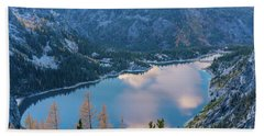 Lake Colchuck Autumn Beauty Beach Towel
