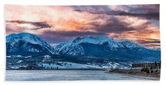 Beach Towel featuring the photograph Lake Dillon by Sebastian Musial