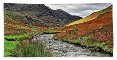 Lake District Landscape Beach Towel