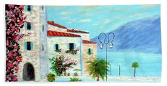 Lake Garda Bliss Beach Towel