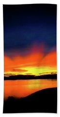 Lake Havasu Sunset Beach Towel