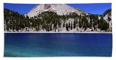 Beach Towel featuring the photograph Lake Helen Mount Lassen 2 by Frank Wilson