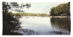 Lake At Burke Va Park Beach Sheet