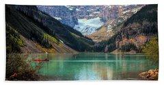 Lake Louise - Canadian Rockies  Beach Towel