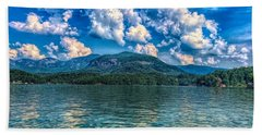 Lake Lure Beauty Beach Sheet