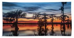 Lake Martin Sunset Beach Towel