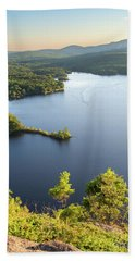 Lake Megunticook, Camden, Maine  -43960-43962 Beach Towel