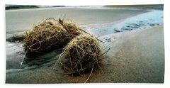 Lake Michigan Tumbleweed Beach Towel