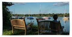 Lake Nokomis Peace Minneapolis City Of Lakes  Beach Towel