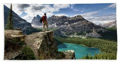 Lake O'hara Adventure Beach Towel