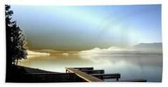 Lake Pend D'oreille Fantasy Beach Towel