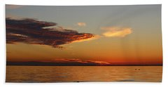 Lake Pontchartrain Sunset Beach Sheet
