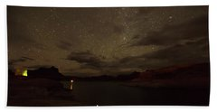 Beach Towel featuring the photograph Lake Powell Stars by Brenda Jacobs