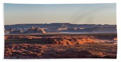 Lake Powell Sunrise Panorma Beach Towel