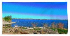 Lake Pueblo Painted Beach Sheet