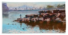 Lake Shore Mississauga Toronto  Beach Towel