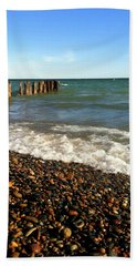 Lake Superior At Whitefish Point Beach Towel