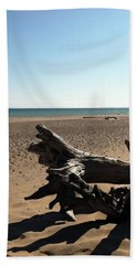 Lake Superior Driftwood Beach Towel